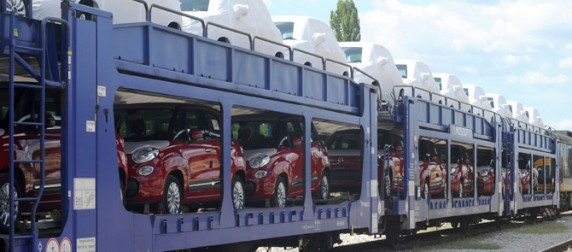Prevoz automobila iz fabrike FIAT